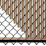 Ridged Slats - Single Wall Bottom Locking Privacy