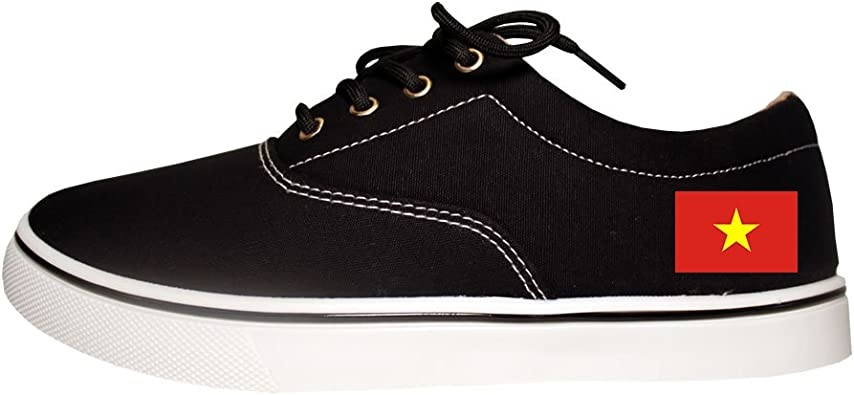 Canvas High Top Sneaker Casual Skate Shoe Mens Womens French Guiana Flag