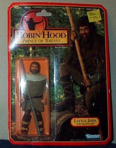 (Robin Hood Prince of Thieves Little John with Quarterstaff Action Figure)