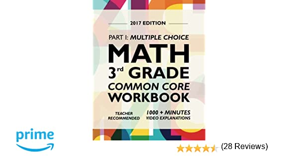 Math Worksheets 3rd grade free math worksheets : Argo Brothers Math Workbook, Grade 3: Common Core Multiple Choice ...