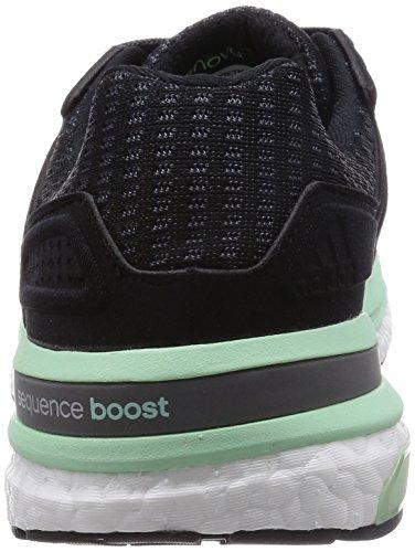 adidas Supernova Sequence Boost 8 W - Zapatillas Para Mujer Negro / Gris / Verde