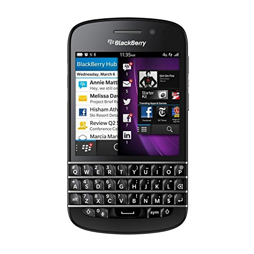 Blackberry Q10 Unlocked Cellphone, 16GB, Black  (Blackberries Phones)