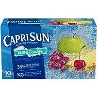 10-Count Capri Sun Pacific Cooler Mixed Fruit Flavored Juice Drink Blend, 60.0 fl oz Box