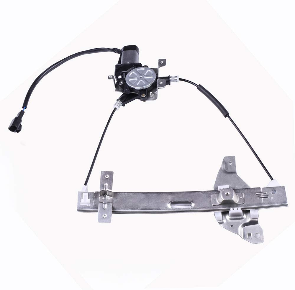 741-623 10338856 Rear Right Passenger Side Power Window Regulator with Motor Compatible for 2000-2005 Chevrolet Impala