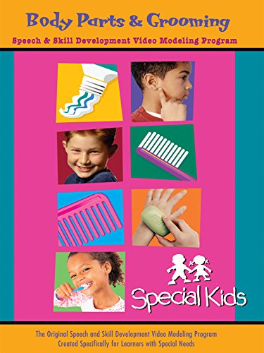 - Special Kids Speech & Skill Development - Body Parts & Grooming