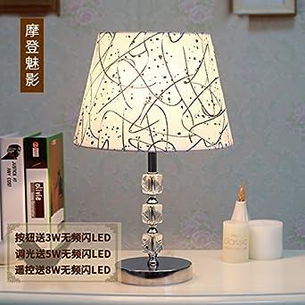 Coucher La De Cristal Chambre Lampe À Thorecrdh Simplicité Moderne SUMpVqz