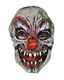 """Lifesize Severed Zombie Evil Clown Head Haunted House Halloween Party Prop 11"""""""