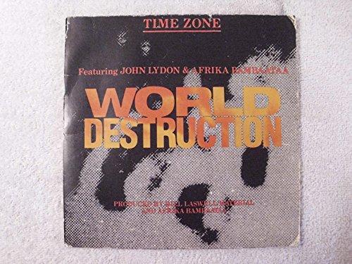 John Lydon & Afrika Bambaataa World Destruction Time Zone US Record
