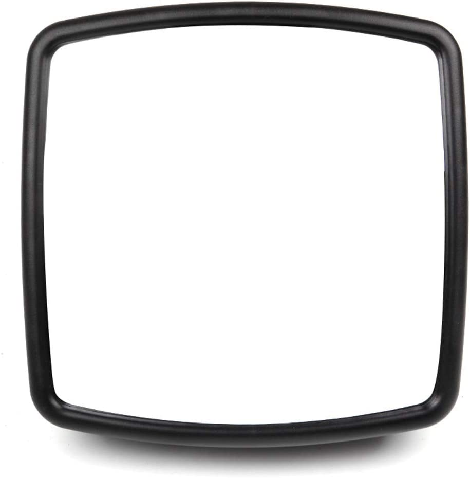 SCITOO Truck Hood Mirror Tow Mirror Black Door Mounted Mirror fit for International Durastar 4300 4400 7400 7600 8500 8600 2002-On with A PC Lower Smaller Mirror