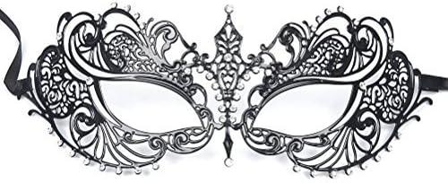 VENBON Máscara Veneciana máscara Sexy Mujer Carnaval Veneciano ...