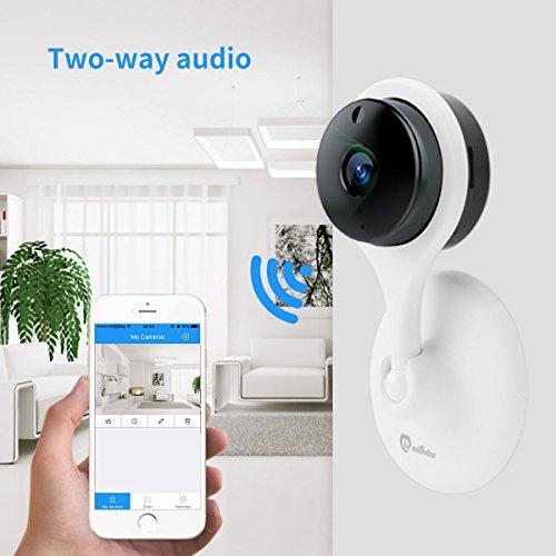 MiSafes 1080p HD Night Vision Remote Surveillance Smart Wi