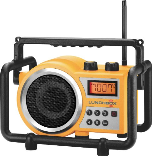 (Sangean Portable Water Resistant Ultra Rugged AM/FM Radio Receiver with Large Easy to Read Backlit LCD Display)