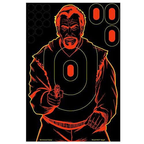 (Shoot-N-C Bad Guy Target - Birchwood Casey - 12 Count )