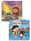 Elijah/John the Baptist Flip-Over Book (Little Bible Heroes™)