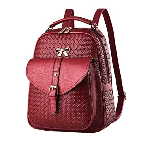 Ayer Bolsa De Hombro Bolsa De Mujer U Bolsa De Cuero Backpacker Bolsa De Estudiante De Escuela Secundaria 5