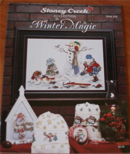 Winter Magic (Stoney Creek Collection Book 209 Cross Stitch - Stoney Cross Patterns Stitch Creek