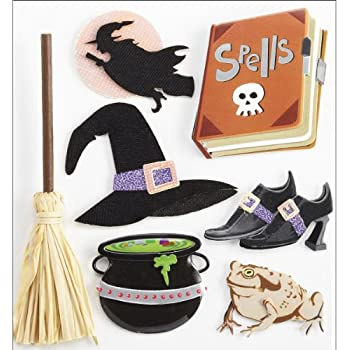 Jolees Boutique Dimensional Stickers, Boutique Witches