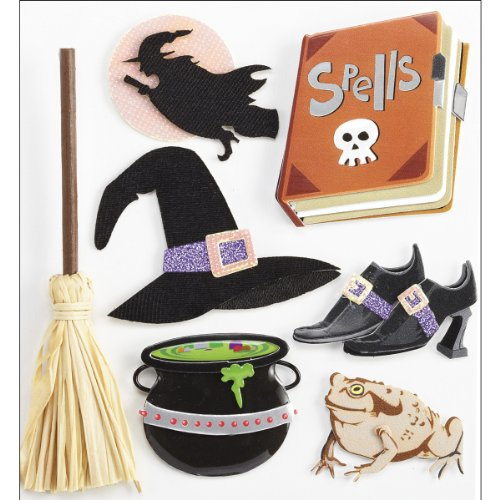 Jolee's Boutique Dimensional Stickers, Boutique Witches ()