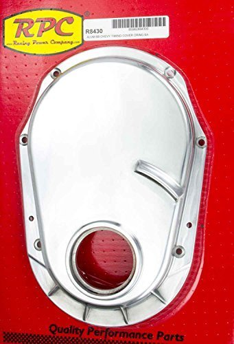Racing Power Company R8430 Polished Aluminum Timing Chain Cover for Big Block Chevy
