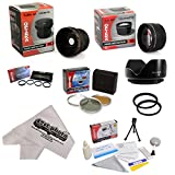 Fuji Finepix Fujifilm S5800 S700 S5700 Ultimate 15 Piece lens Kit Package Includes 0.20X Super Wide Angle Fisheye lens, 5 PC Close-Up Set (+1, +2,+4 with 10X Macro Lens) , 2.2x HD AF Telephoto Lens + 3 Piece Pro Filter Kit (UV, CPL, FLD) + Tube Adapter + Deluxe Lens Cleaning Kit + LCD Screen Protectors + Mini Tripod + 46-52mm Adapter Ring + 47stphoto Microfiber Cloth Photo Print !
