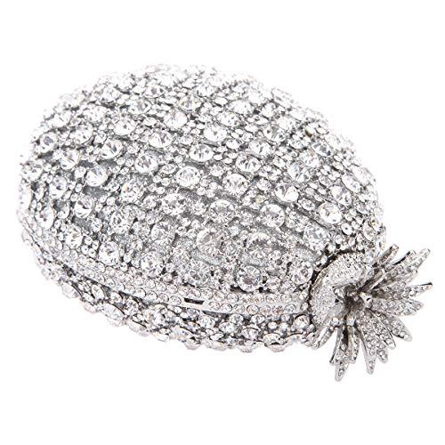 Pochette S Femme Pour Bonjanvye Uk161031 Silver BzWnz5xTI