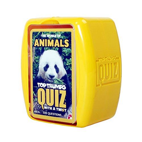 Top Trumps World of Animals Quiz Game