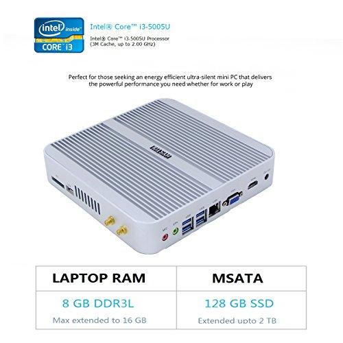 Intel NUC, Intel Core i3-5005U,Mini Desktop-PC,Gaming-Deskto