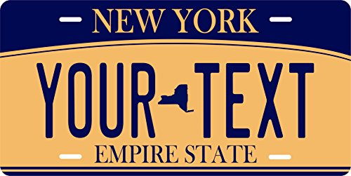 (New York 2010 NY Personalized Custom Novelty Tag Vehicle Car Auto Motorcycle Moped Bike Bicycle License Plate)