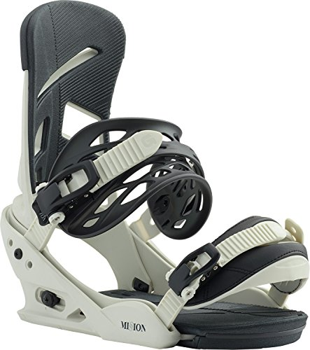 Burton Freestyle Snowboard Binding - Burton Mission Snowboard Bindings Bone Sz L (10+)