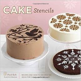 Wondrous Cake Stencil Kit Amazon Co Uk Tara Duggan Jessica Hische Personalised Birthday Cards Vishlily Jamesorg