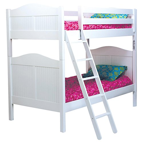 Bolton 9810500 Cottage Bunk Bed, White (Cottage Wakefield)