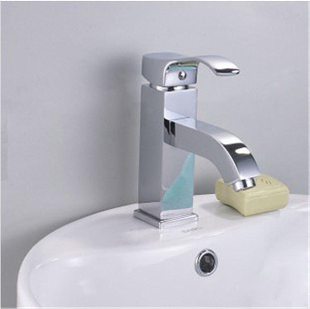 NewBorn Faucet Wasserhähne Warmes und Kaltes Wasser Größe Qualität zeitgenössischen Voll Kupfer Kaltes Wasser Sit-Inconsole Waschbecken Badezimmer Waschbecken Mixer