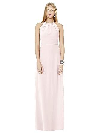 95ad11ffb4c7 SOCIAL BRIDESMAIDS Style 8151 Floor Length Nu-Georgette A-Line Skirt Formal  Dress -
