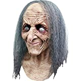 Ghoulish Productions Hagatha Latex Witch Mask Swamp Hag Old Witch Halloween