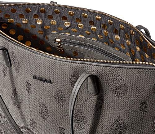 Desigual Bag Paola Capri Zipper Women – Borse a spalla Donna, Nero (Negro), 13x28x30 cm (B x H T)
