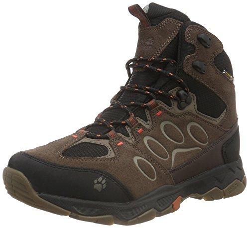 Jack Wolfskin Mtn Attacco 5 Texapore M Herren Trekking- & Wanderstiefel Braun (terra Arancione 3720)