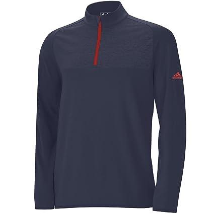 42ba98ae0a93 Adidas ClimaWarm Camo Print 1 2 Zip Layering Golf Pullover 2015 Midnight  Indigo Hi