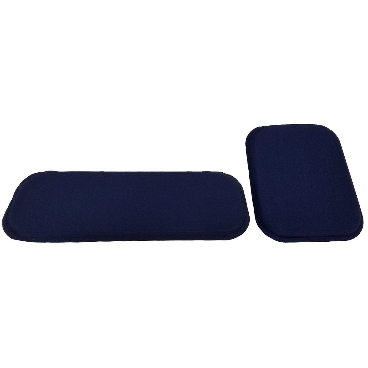 ULTRAGEL ANYWHERE, ANYTIME Arm/ Wrist Rest Personal Comfort Gel Pads- Combo Set (5.0X12.5 and 6.5x8.5)