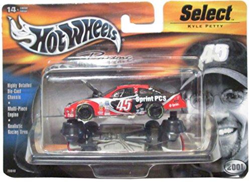 Hot Wheels Racing Nascar 2001 Select - Kyle Petty #45 Sprint Car