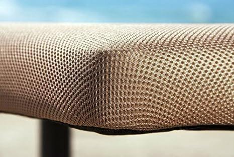 BASE TAPIZADA 3D 150x190. Incluye 5 PATAS, 5 barras de refuerzo, MULTIPERFORADA con canales de aireación.: Amazon.es: Hogar