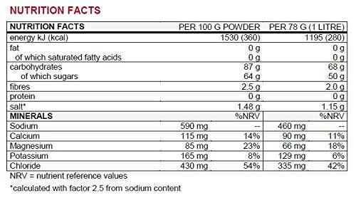 Sponser ISOTONIC 1000g Dose Citrus 12 Liter isotonische: Amazon.es: Salud y cuidado personal