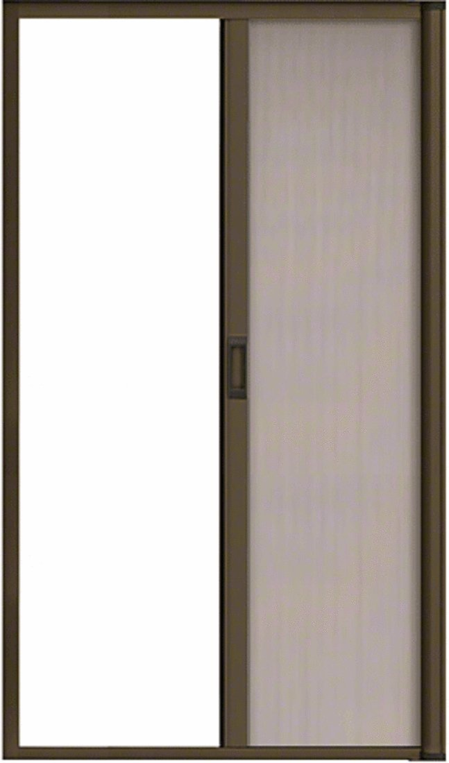 CRL Bronze 84'' Euro Retractable Screen Door Kit