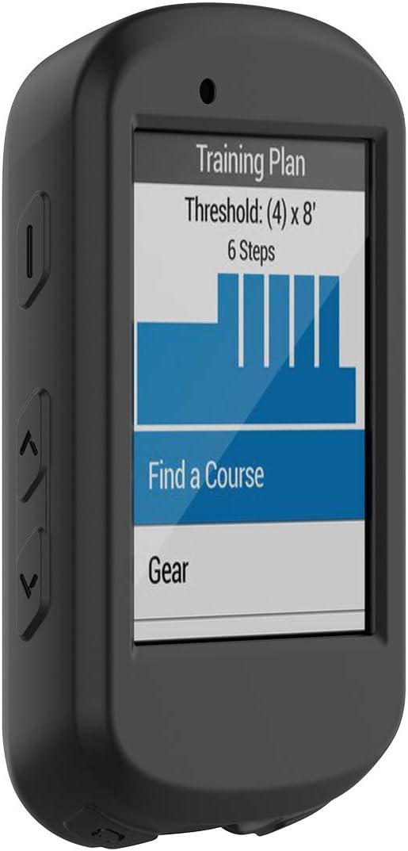 Disscool Silicone Case Cover for Garmin Edge 530 Soft Anti Drop Protective Case Cover Skin for Garmin Edge 530
