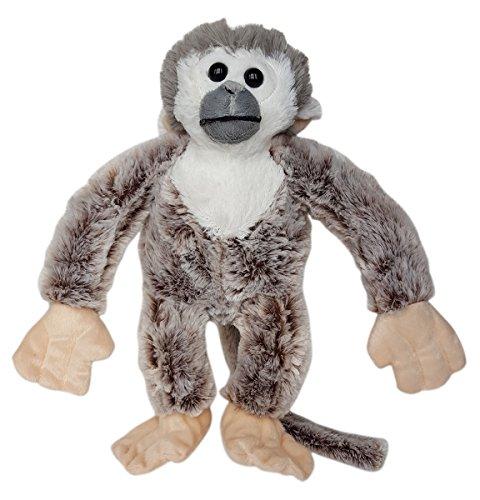 Cuddly Soft 16 inch Stuffed Squirrel Monkey...We stuff 'em...you love (Plush Squirrel Monkey)