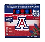 Let's Light It Up Officially Licensed College Christmas Lights (University of Arizona)