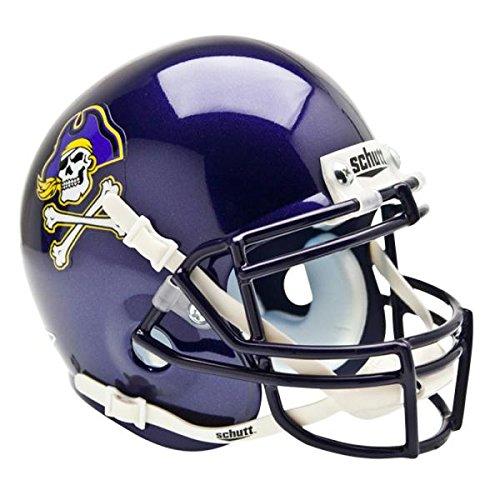 East Carolina Pirates NCAA Authentic Mini 1/4 Size Helmet