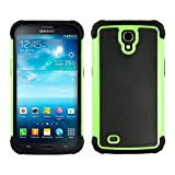 kwmobile Hybrid Case for Samsung Galaxy Mega 6.3 in green black. TPU Inner-case, Hardcase shield! Perfect for outdoor usage of your smartphone and topmodern