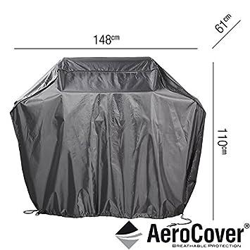 AeroCover® Premium - Funda protectora para barbacoa de gas barbacoa 148 x 61 x 110 cm: Amazon.es: Jardín