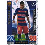 Topps Champions League Match Attax 15/16 Neymar Jr Man Of The Match 2015/2016 Trading Card