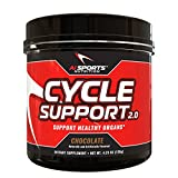 Cycle Support 2.0 by AI Sports Nutrition | Chocolate 30 Serving Tub – Cycle, Liver, Kidney & Overall Organ Support Supplement Ingredients: Red Yeast Rice, Hawthorn Extract, and Milk Thistle Review